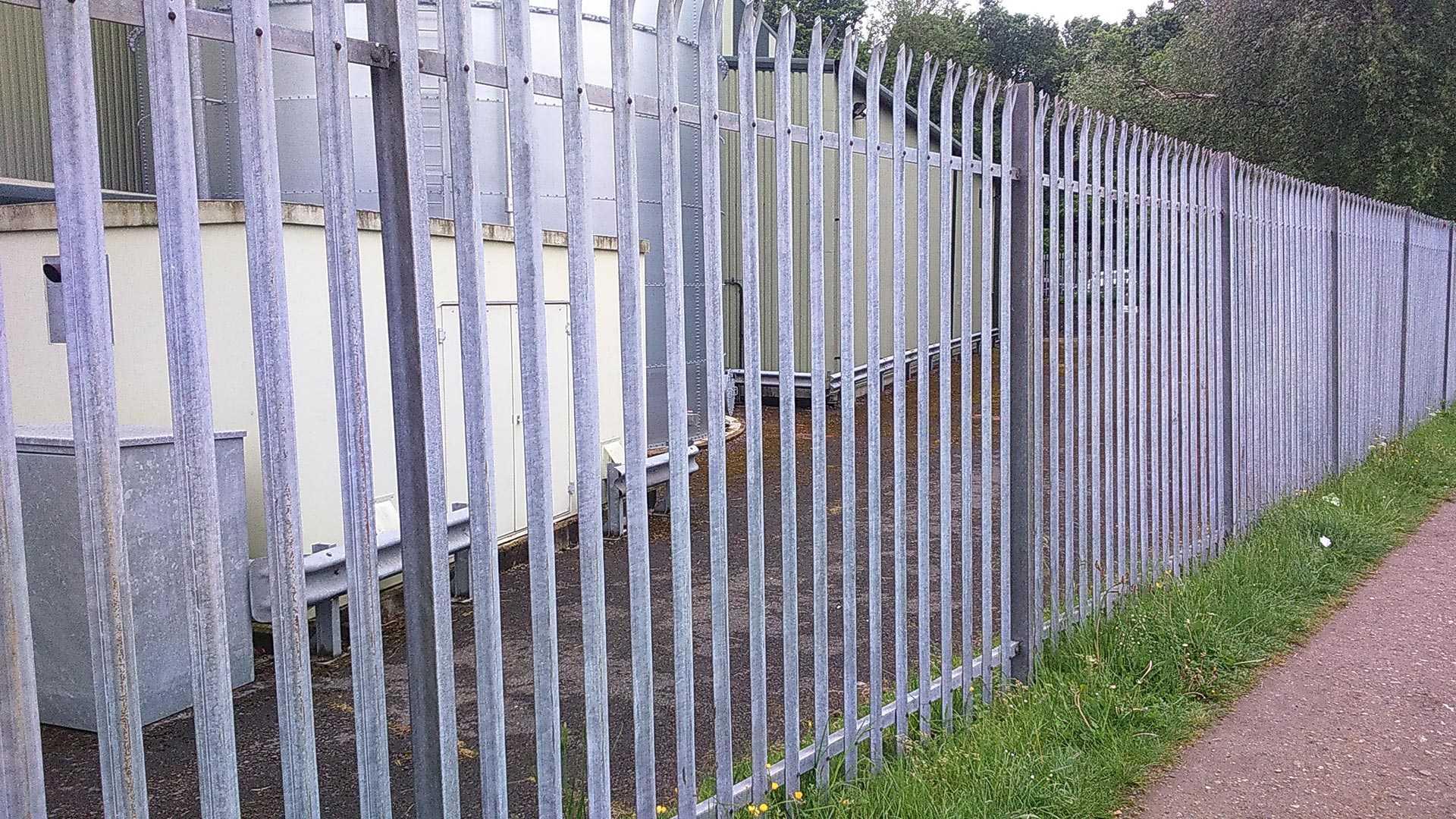 Steel Palisade Fencing