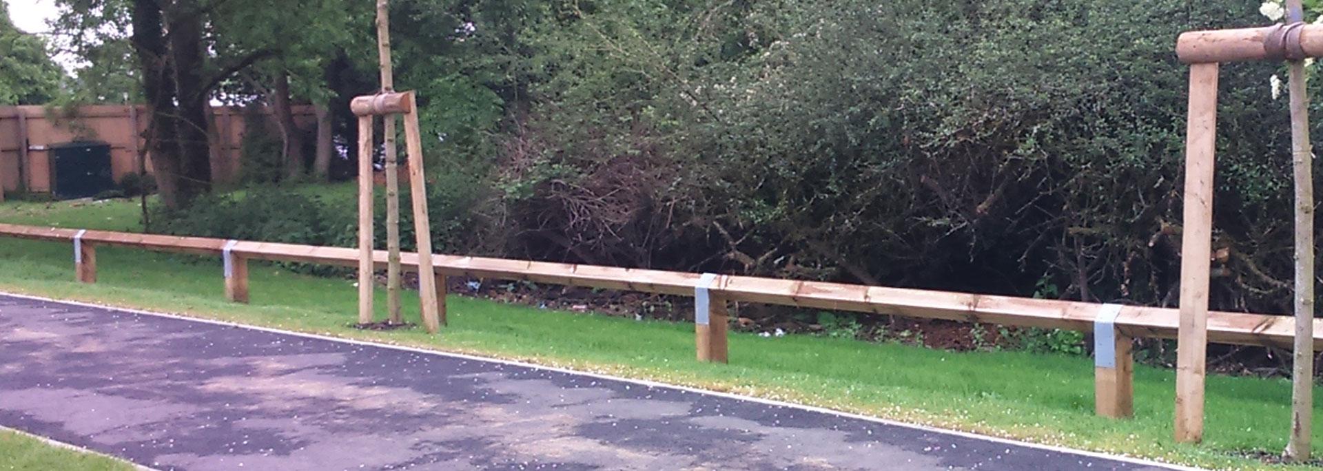 Knee Rail Fence
