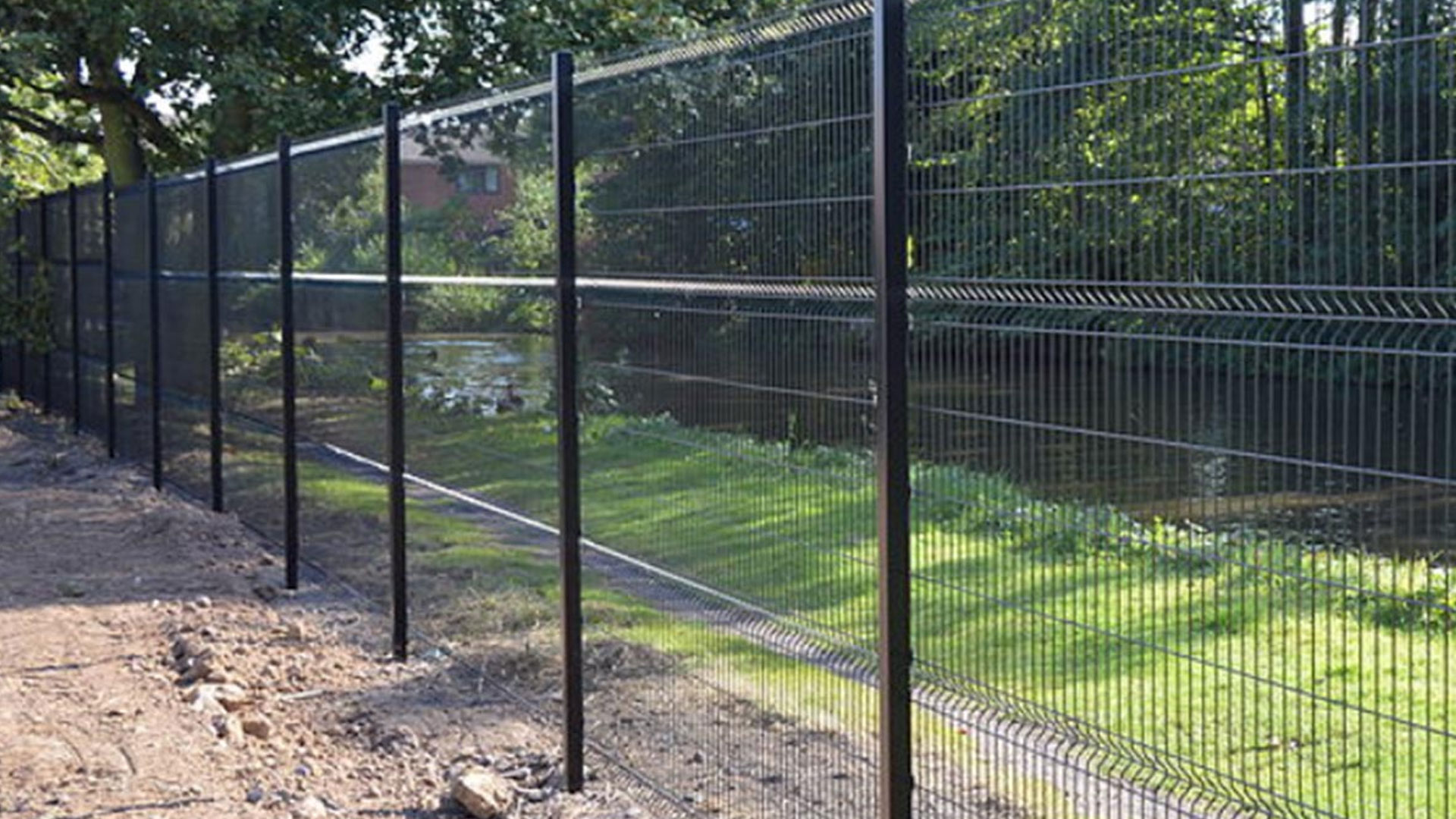 'V' Profile Mesh Fencing
